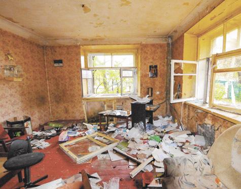 монтаже брошенные квартиры в дрязгах фото капельки