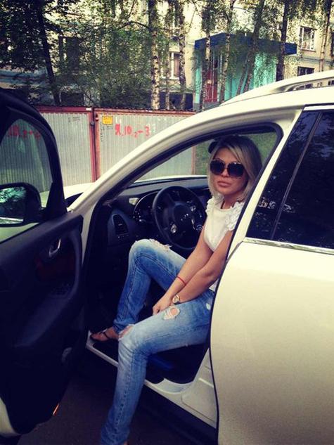 Блондинка в машине частное — pic 6