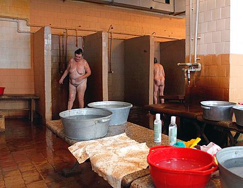 Общественная баня видео