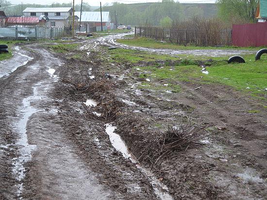 Деградация чувашского села