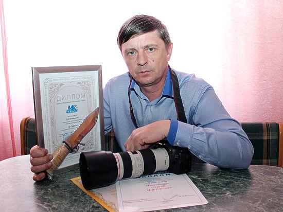 Сергей Вчерашний из Варненского района сменил охотничье ружье на фотоаппарат