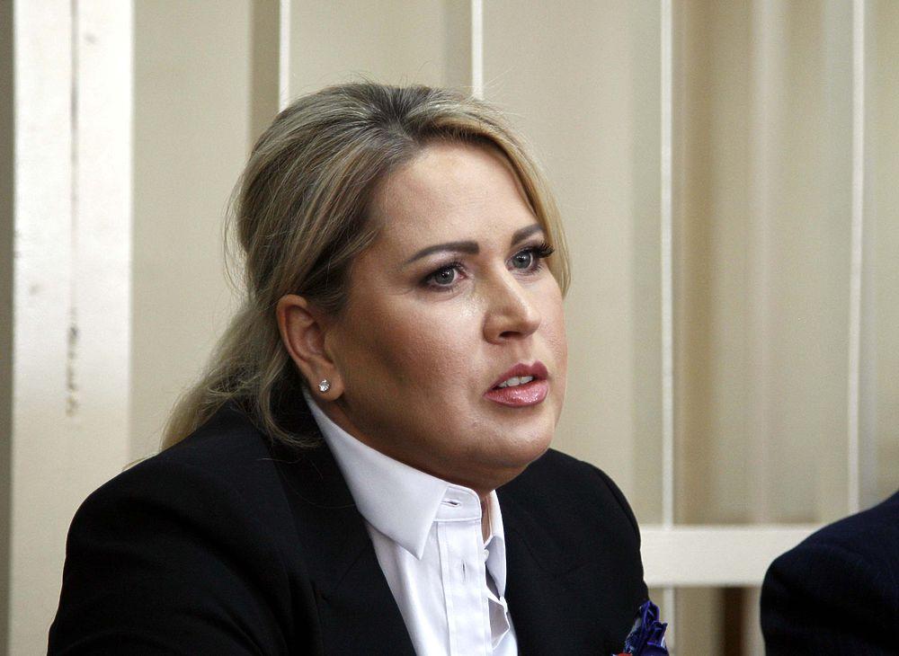 Евгения Васильева в зале суда перед оглашением приговора