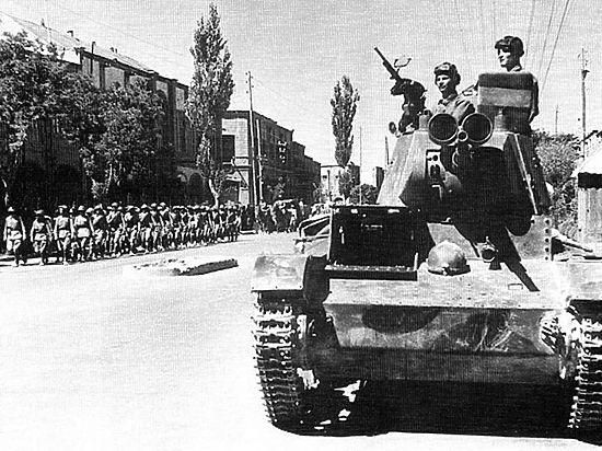 Советские войска сражались против фашистов на персидской земле