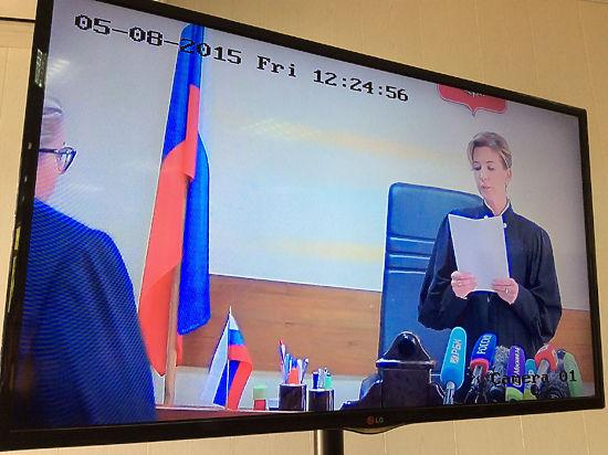 На судью Васильевой «не действует административное давление»