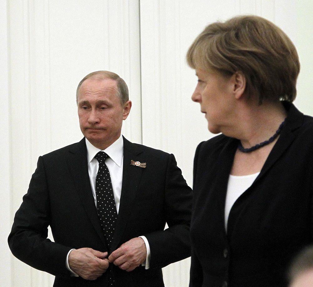 Меркель прибыла в Москву на переговоры с Путиным