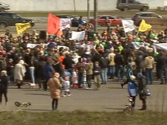 Под носом у детей власти Куркино собираются возводить площадку на 40 автобусов