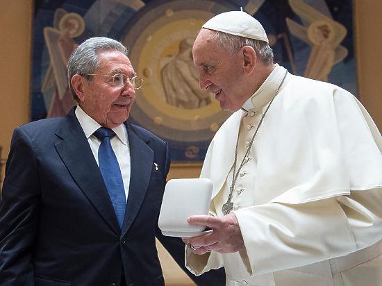Президент Кубы Рауль Кастро может стать добрым католиком
