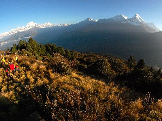 Российские альпинисты сообщили о закрытии Гималаев для восхождения из-за землетрясений