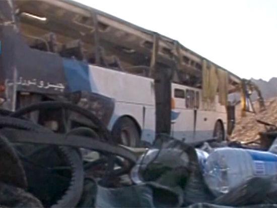 В Египте разбился автобус с россиянами: двое погибли, девять ранены