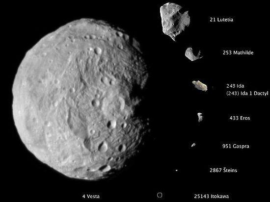 Сегодня к Земле на расстояние 40 тыс км приблизится опасный километровый астероид