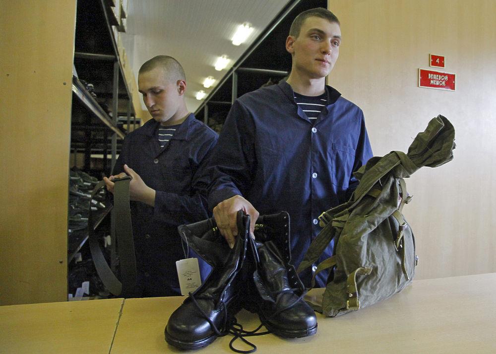 Представителей сборной России призвали в армию