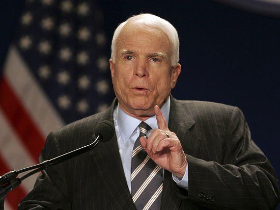 Маккейн выступил против закупки российских ракетных двигателей