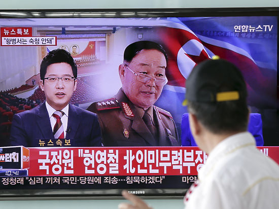 Расстрелянный из зенитки министр обороны КНДР неожиданно