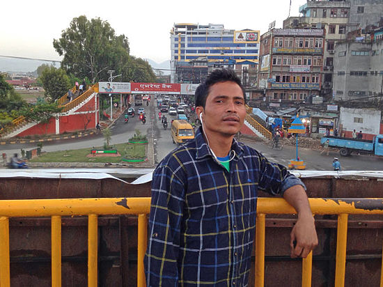 Житель Калининграда едва не погиб во время землетрясения в Непале