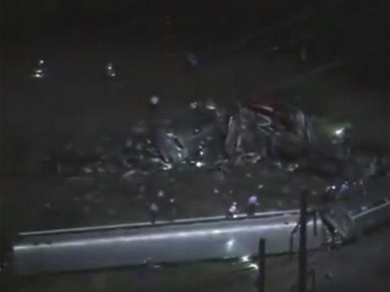 Авария поезда в Филадельфии: eсть убитые и раненые