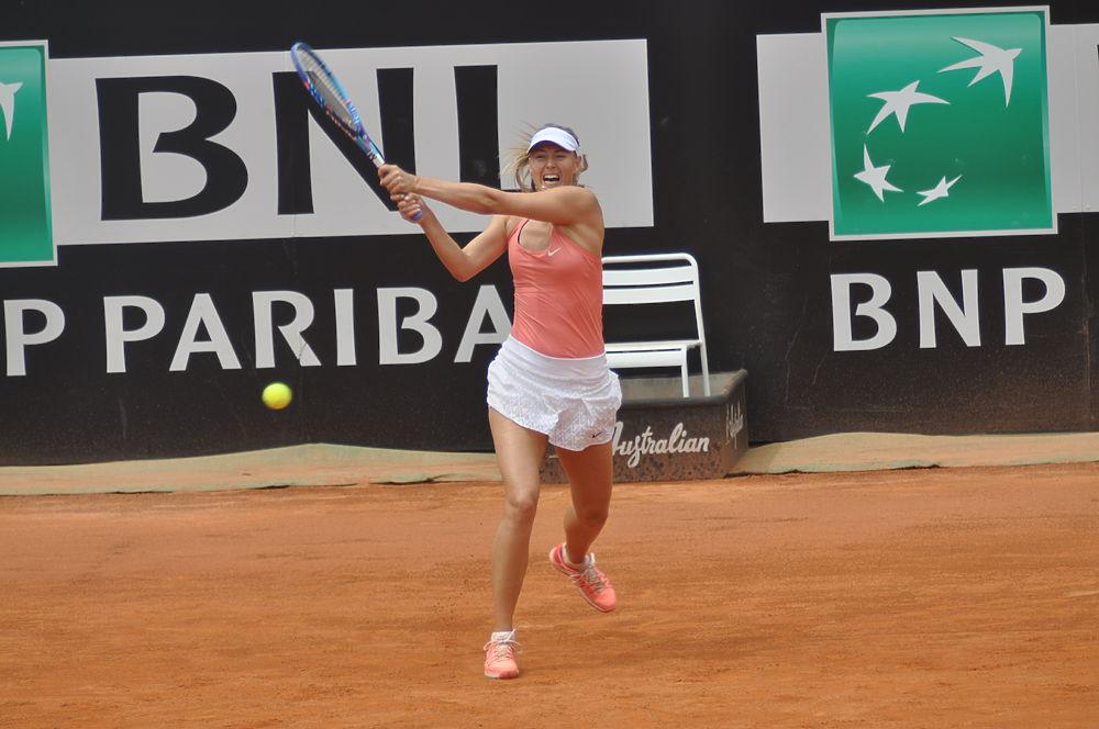 Поединок Марии Шараповой и Бояны Йовановски: победа российской тенисистки