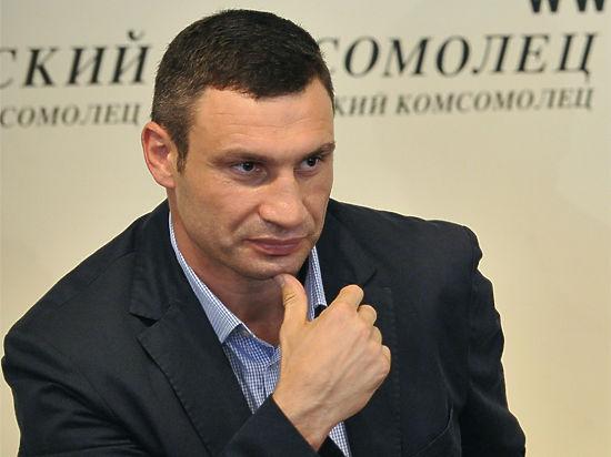Кличко поздравил лидера