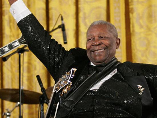 Легендарный «Король блюза» Би Би Кинг скончался в возрасте 89 лет
