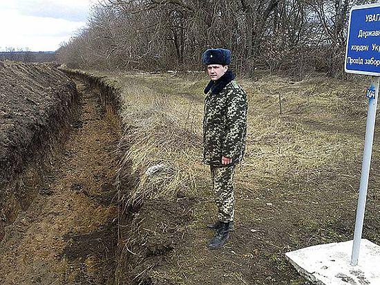 Украина отгородится от России стеной за 200 млн долларов