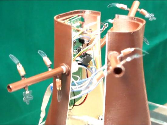Робо-растение придумали ученые из Итальянского института технологий