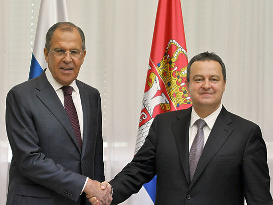 Визит Сергея Лаврова в Сербию: партнерство с Россией не противоречит евроинтеграции