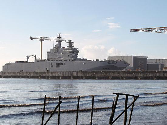Главком ВВС Франции считает, что «Мистрали» лучше затопить