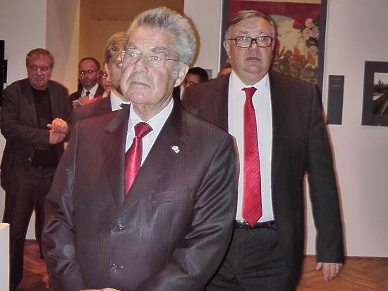 Президент Австрии открыл выставку о победе советского народа над фашизмом