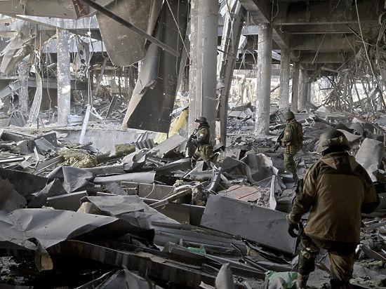 Реванш Порошенко: в донецком аэропорту произошло новое обострение обстановки