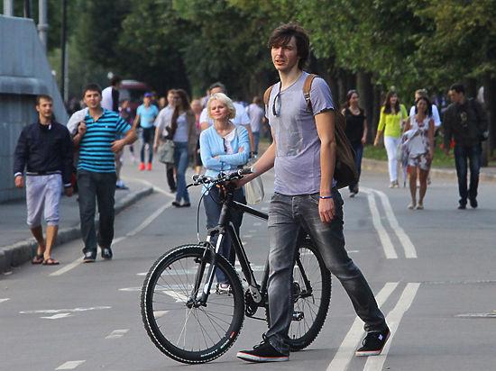 Москвичи поедут на работу на велосипедах