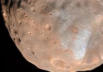 С Марсом столкнулся спутник в десять раз тяжелее Цереры