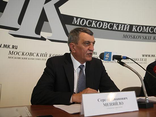 Губернатор Севастополя Меняйло упрекнул Чалого в «эмоциях»
