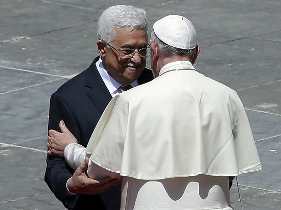 Так что сказал Папа Римский Махмуду Аббасу?