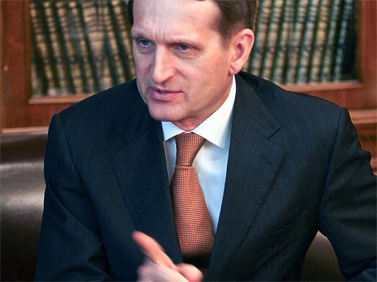 Думу все-таки «округлят»: Сергей Нарышкин счел досрочные выборы «возможными»
