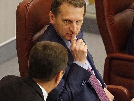 Нарышкин одобрил перенос думских выборов - полезно для бюджета
