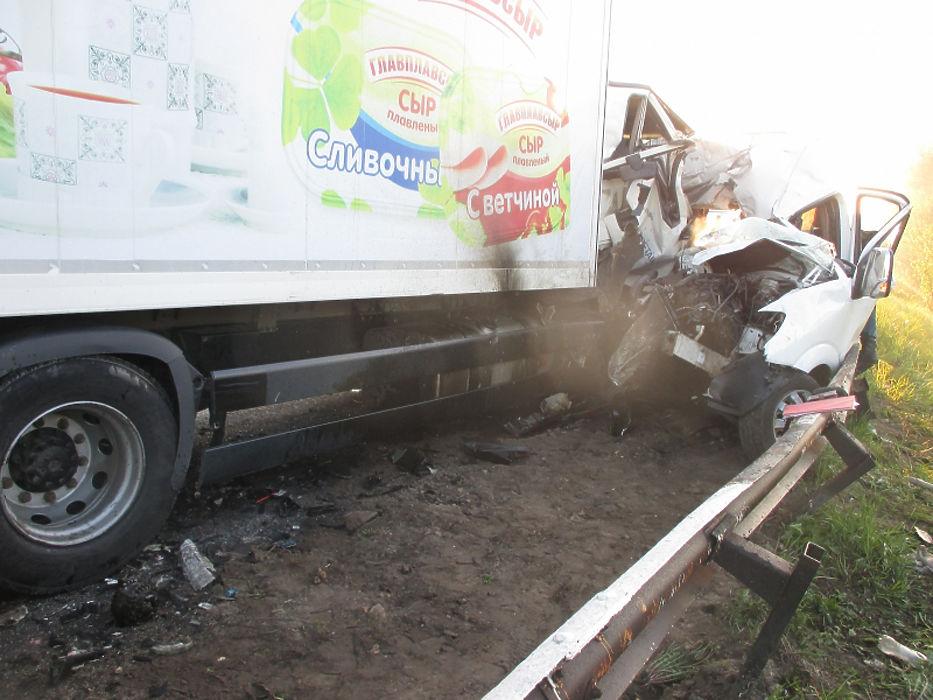 В Нижегородской области автобус с детьми столкнулся с грузовиком