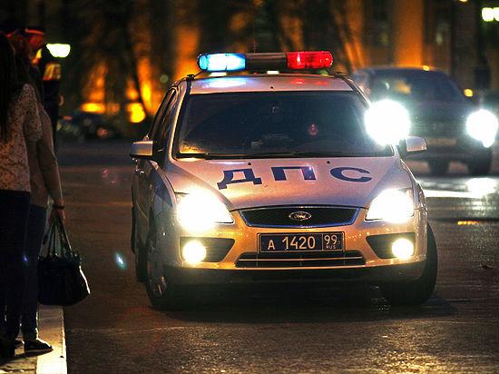 Московские полицейские разбились, погнавшись за