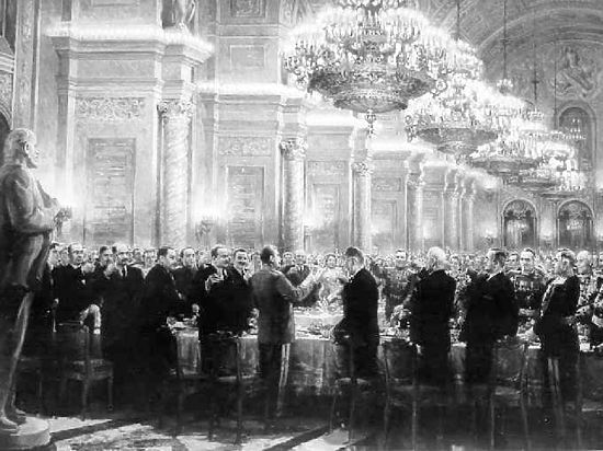 От салюта до салата: тайны приемов в Кремле  в честь Победы
