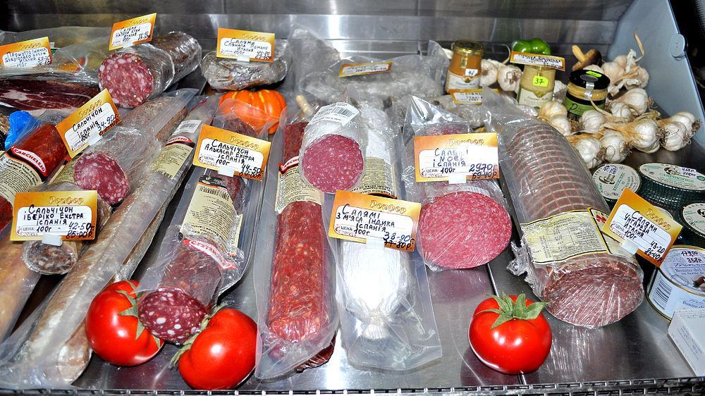 В магазины Донецка возвращается продуктовое изобилие