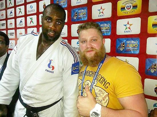 Олимпийский чемпион по дзюдо Ринер:
