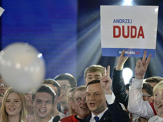 Во втором туре выборов президента в Польше победил Анджей Дуда