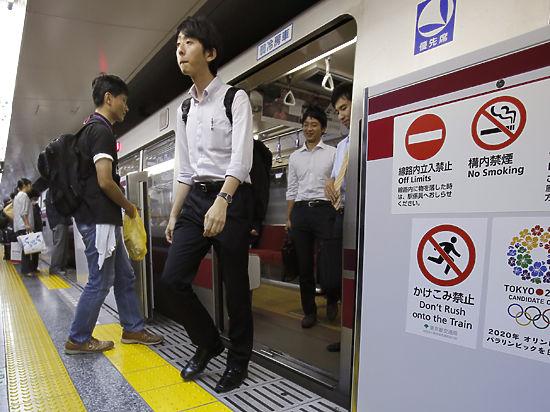 Токийское метро закрыли из-за мощного землетрясения