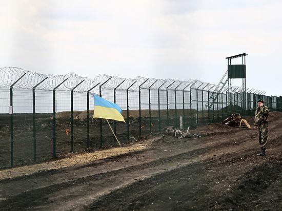 Часть границы с украинской стороны контролируют ополченцы