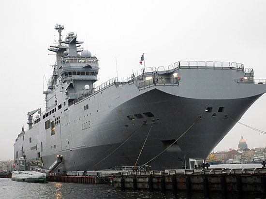 Россия от кораблей официально не отказывалась
