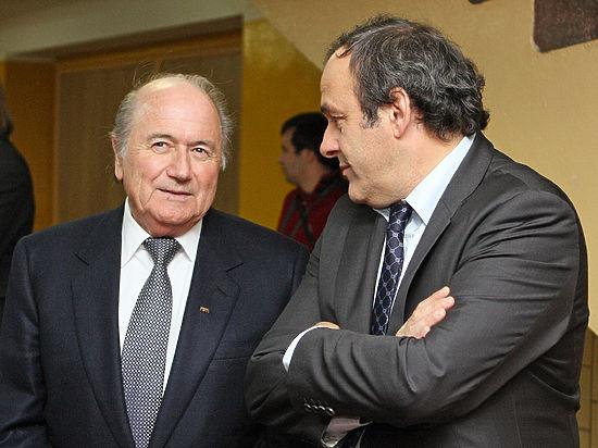 УЕФА против Блаттера на выборах в президенты ФИФА