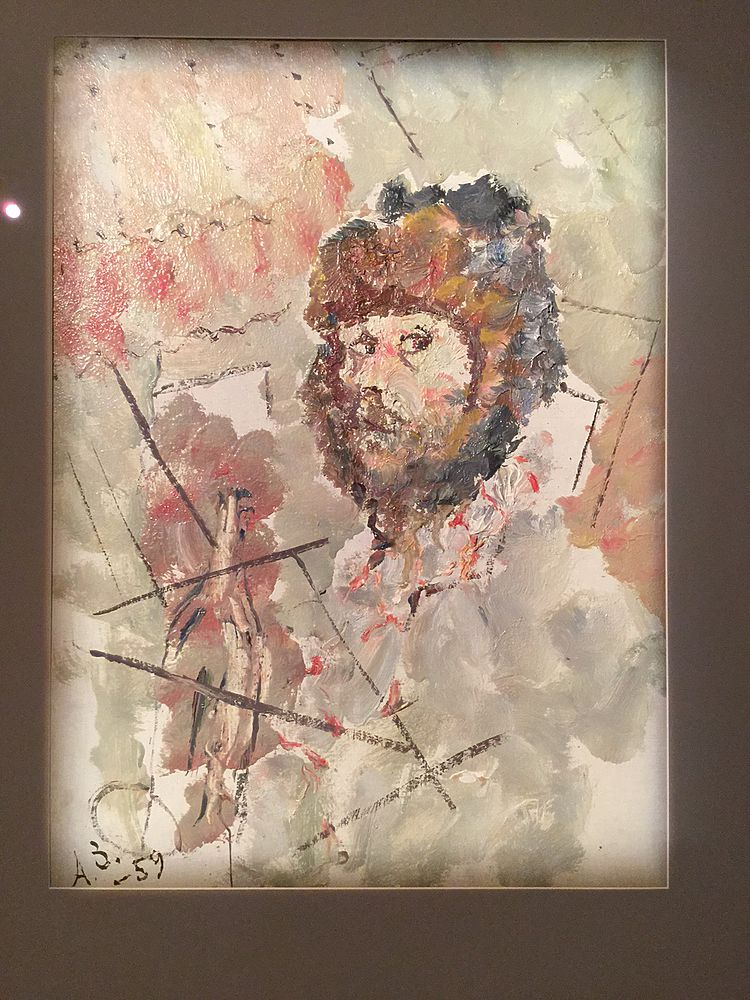 Выставка известного художника-авангардиста Анатолия Зверева