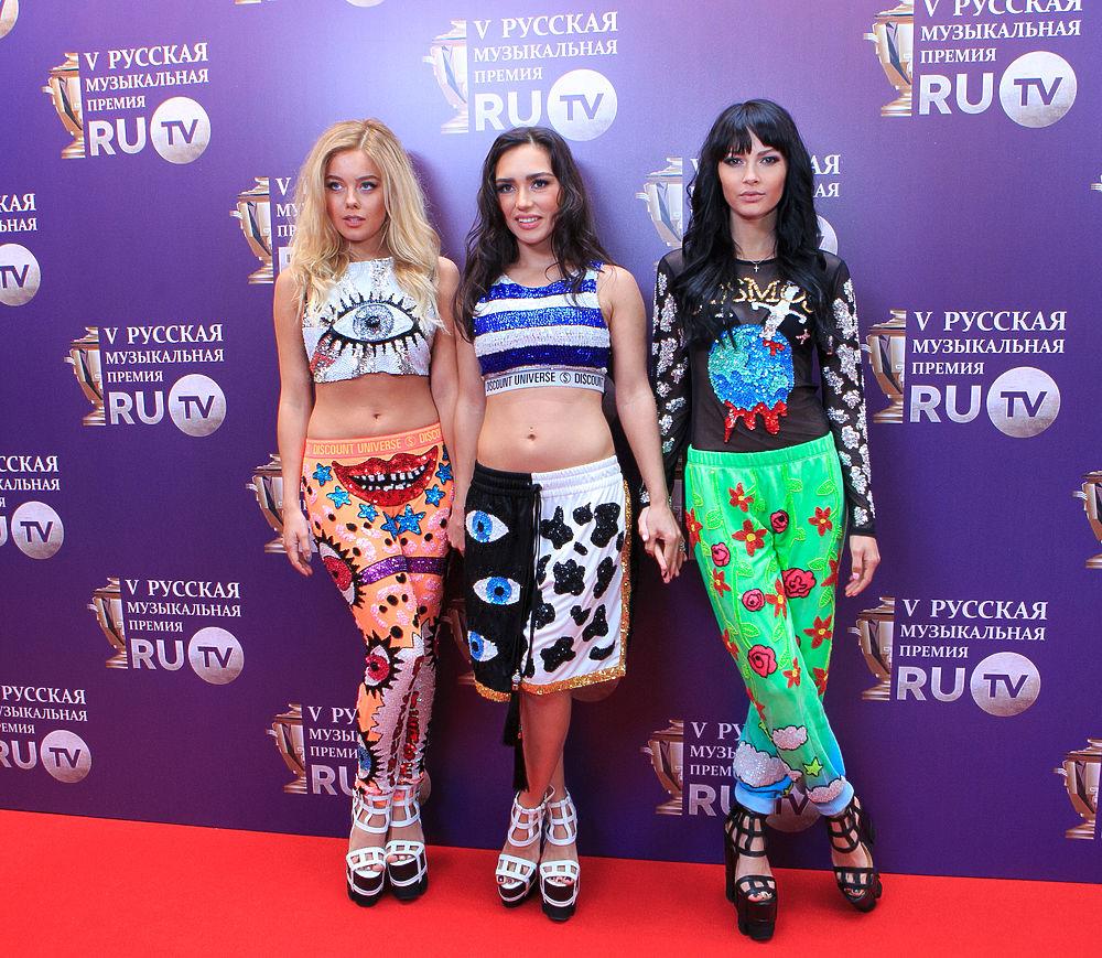 Звезды на музыкальной премии  RU.TV
