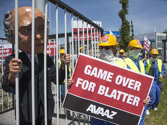 Блаттер призвал «не раскачивать лодку» ФИФА