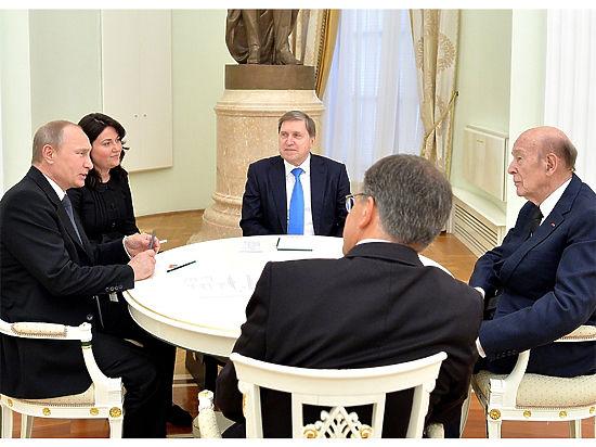 Детали встречи с российским лидером французский гость предпочел не раскрывать