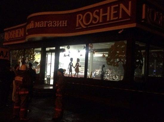В Киеве в магазине Roshen прогремел взрыв, объявлен план «перехват»