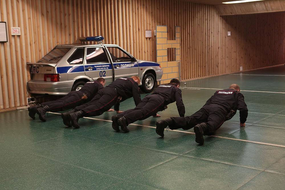Центр по подготовке инструкторов для полицейских